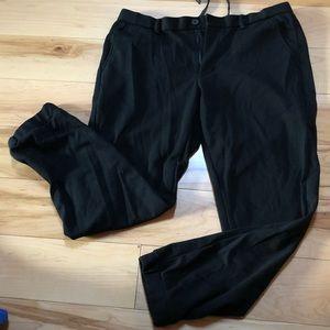 Men's black jogger pant